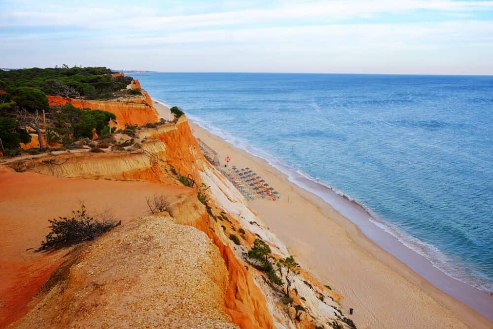 Praia da Rocha Baixinha - a stunning beach in Portugal which has a Blue Flag status