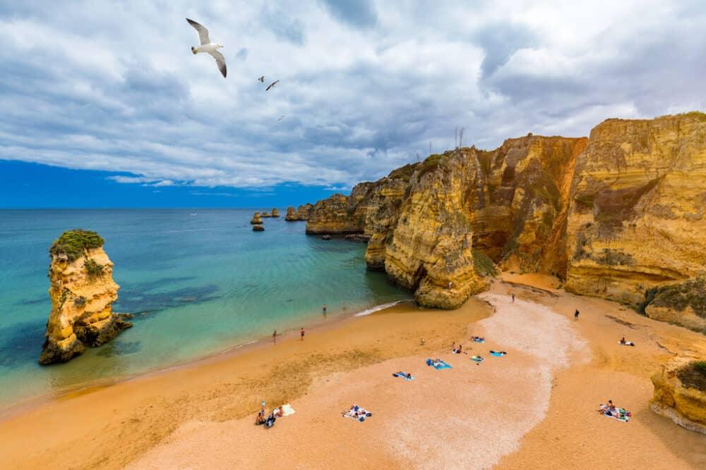 Praia de Dona Ana - One of the Top 10 beaches in Portugal
