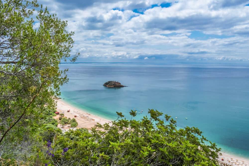 Praia do Creiro - a pretty beach in Portugal
