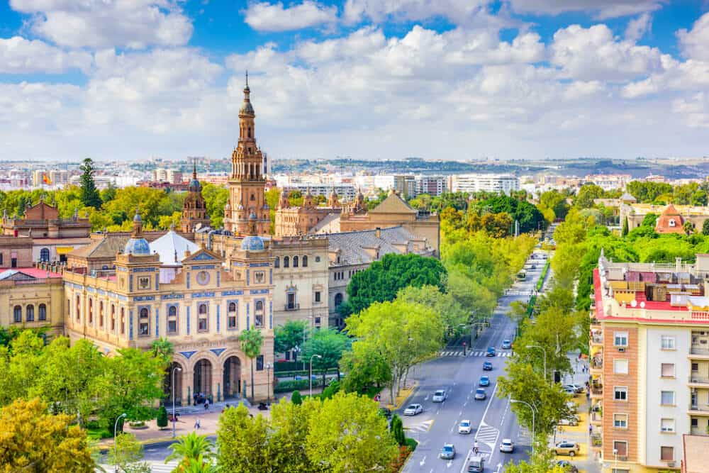 Seville City - one of Spain's top places to visit
