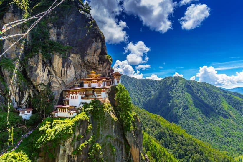 Top 10 of the most beautiful places to visit in Bhutan