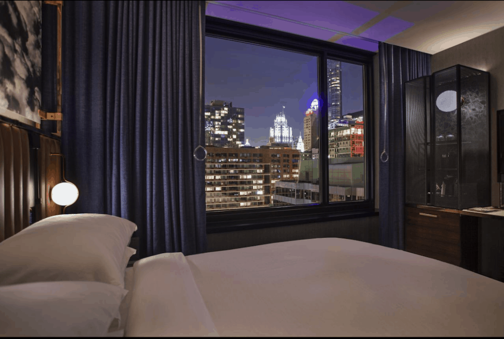 A hotel great for couples in Chicago