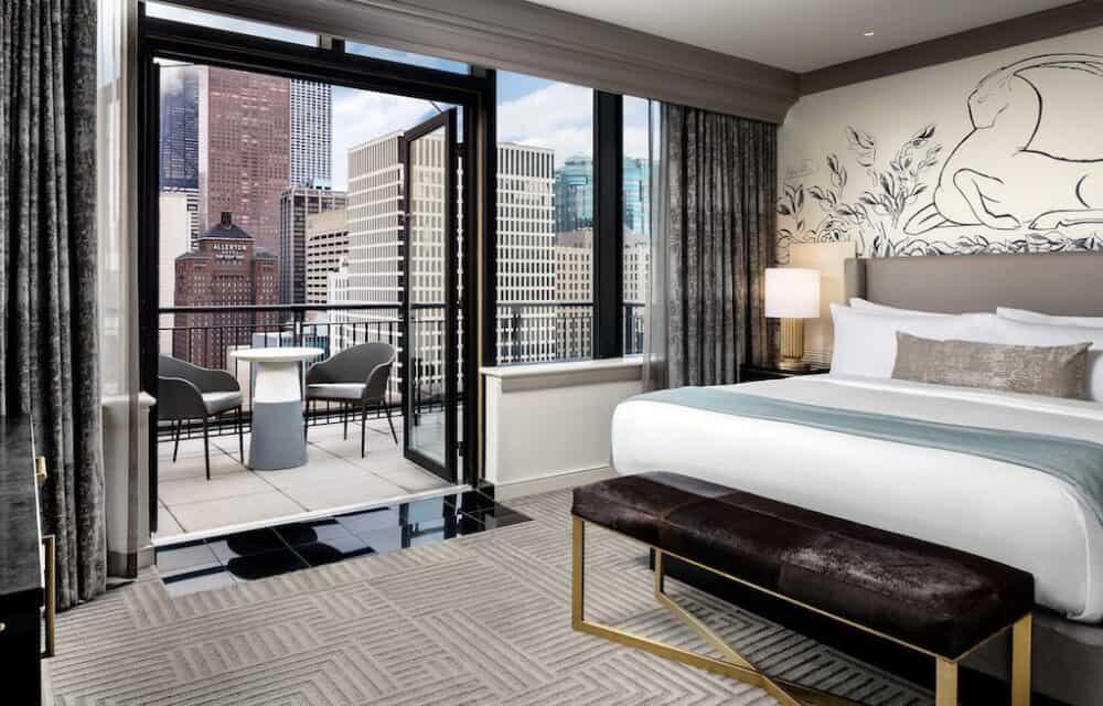 A very romantic hotel in Chicago