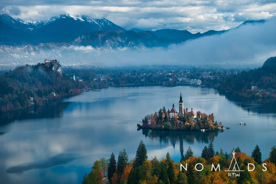 Bled in Slovenia - unspoilt towns