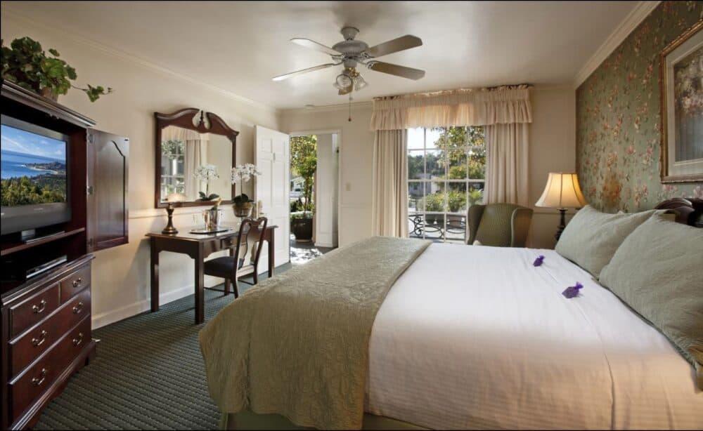 A charming hotel in Santa Barbara