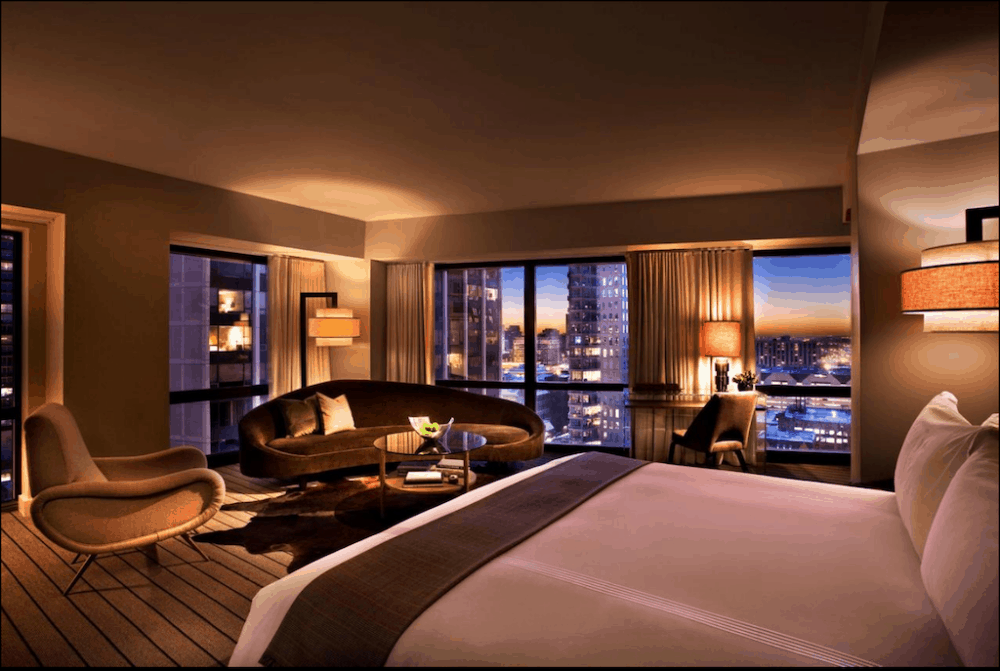 Hotel in Chicago for romance