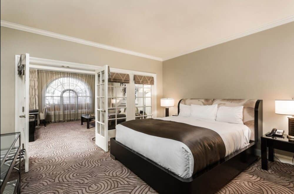 Romantic luxury accommodation Santa Barbara