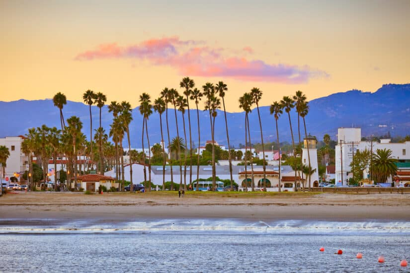 The most romantic hotels in Santa Barbara