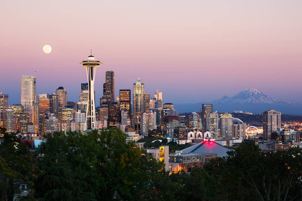 The most romantic hotels in Seattle