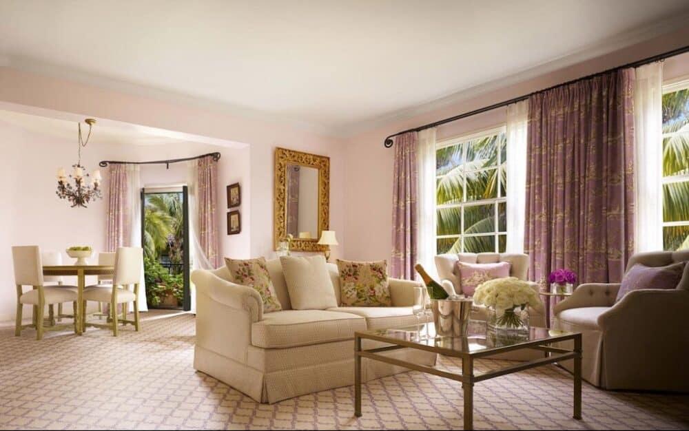 Ultra romantic hotel in Santa Barbara