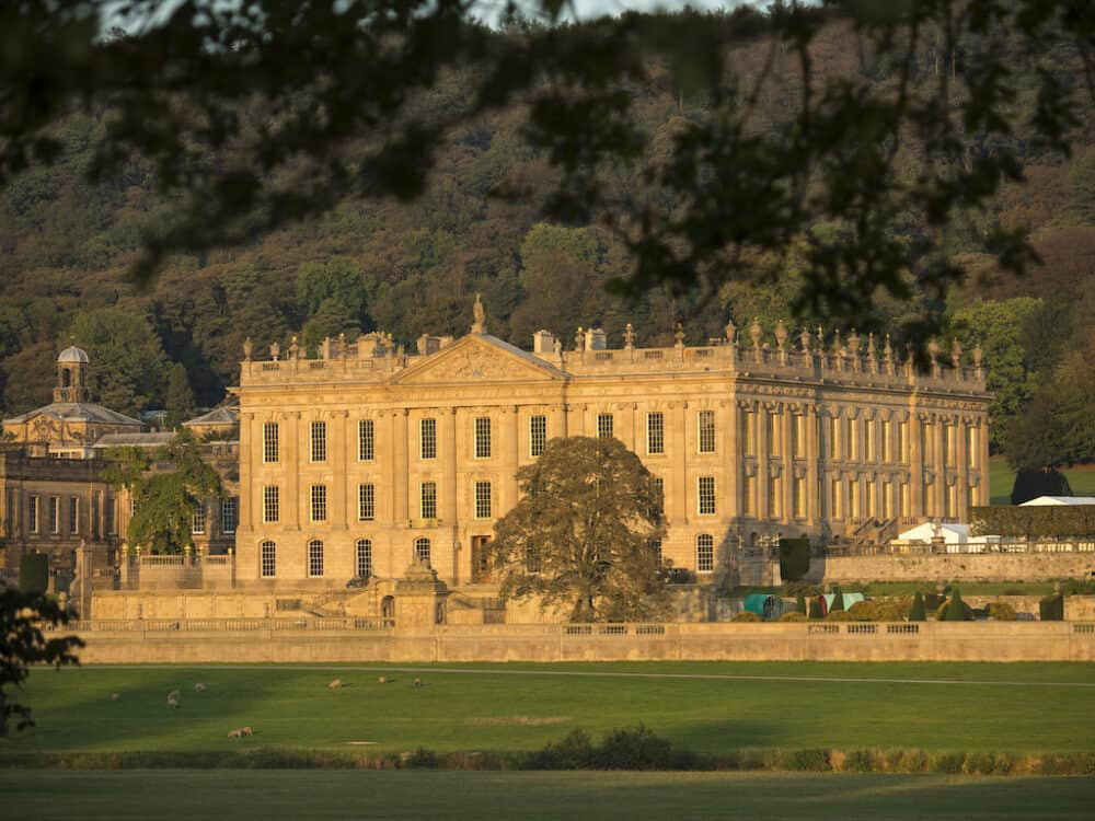 Chatsworth House Autumn
