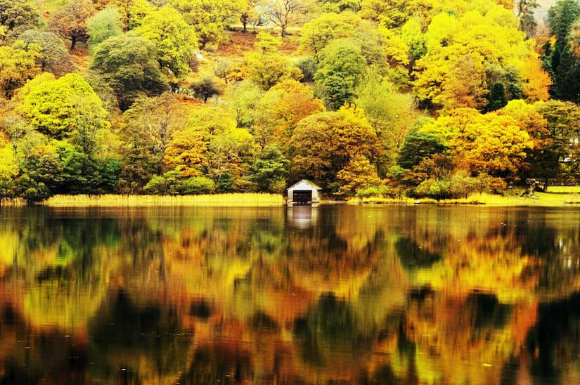 Coniston Lake District Autumn