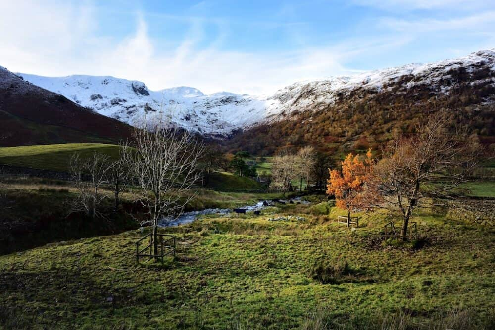 Dove Crag - best places in the UK to visit in Autumn