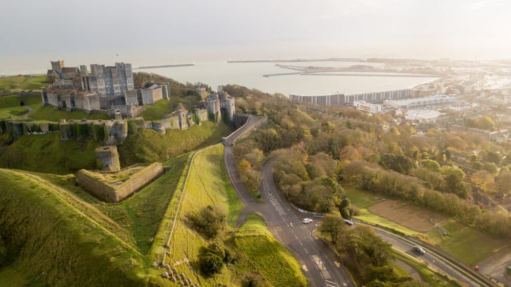 Dover Castle - beautiful castles to visit in England