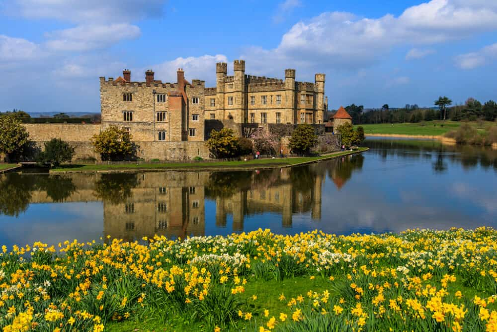 Leeds Castle - beautiful places to visit in Kent