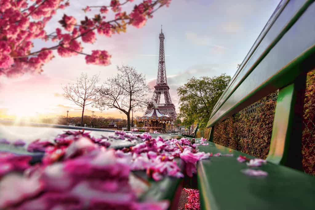 Most romantic hotels in Paris