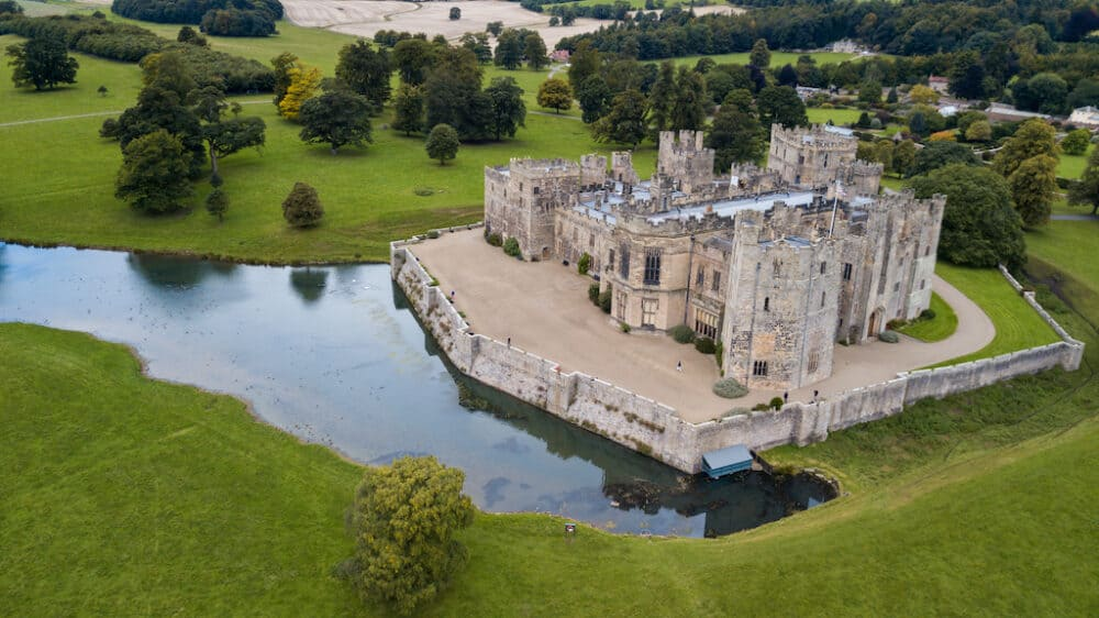Raby Castle - the best castles to visit in England