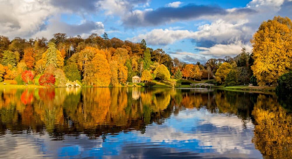 Stourhead Wiltshire Fall