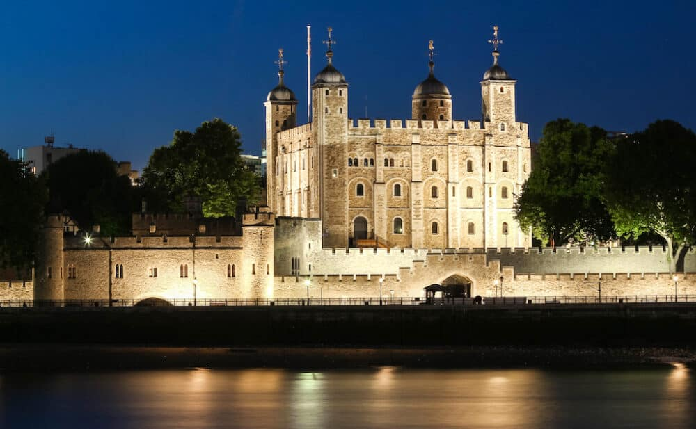 Tower Of London - best castles to visit in London