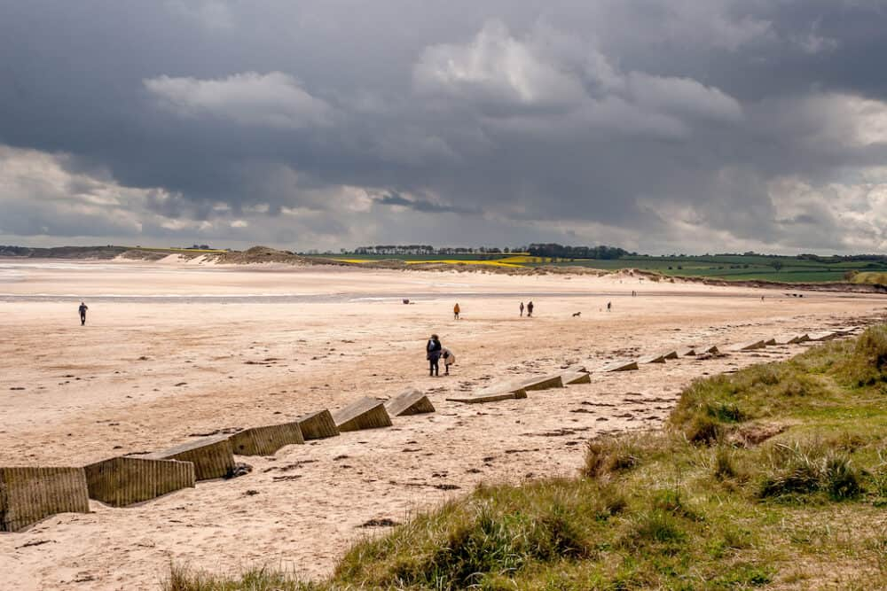 Alnmouth Beach Northumberland