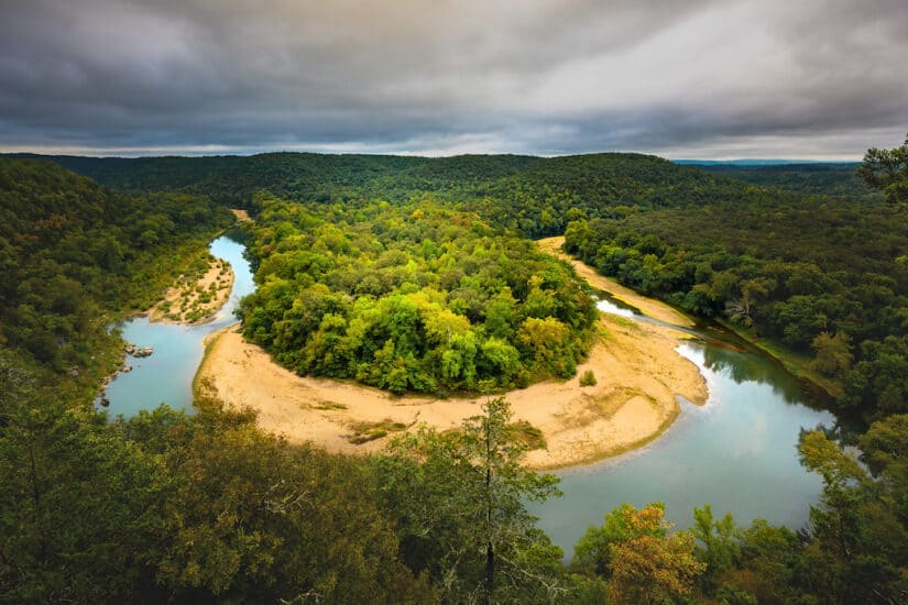The most beautiful places to visit in Arkansas