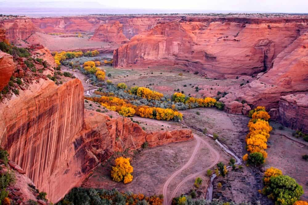Canyon De Chelly - beautiful places to explore in Arizona