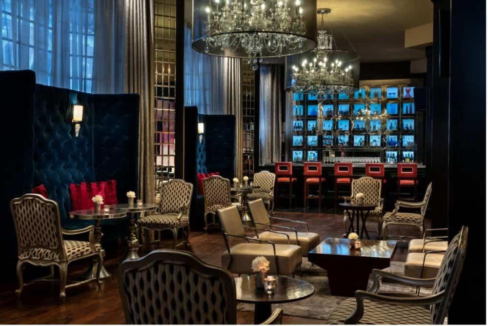 Chic and romantic hotel in Atlanta