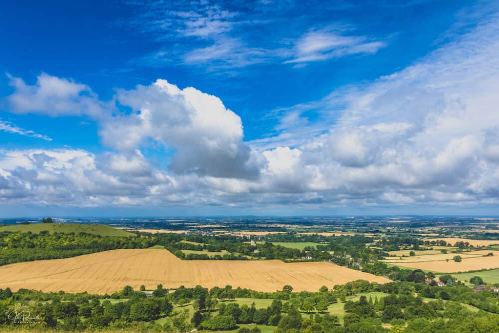 Coombe Hill view Panorama
