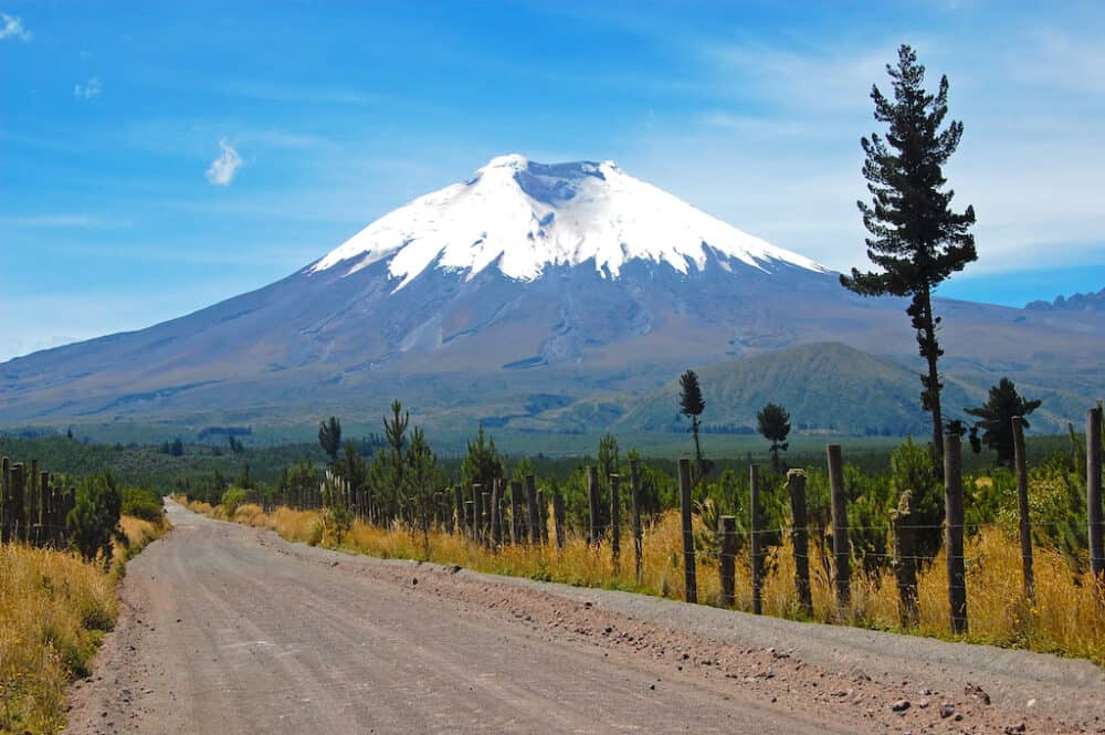 Cotopaxi National Park - amazing places to visit in Ecuador