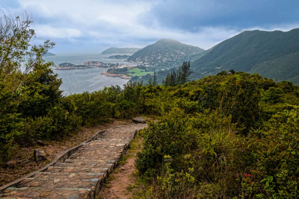 Dragon's Back - best places to visit in Hong Kong