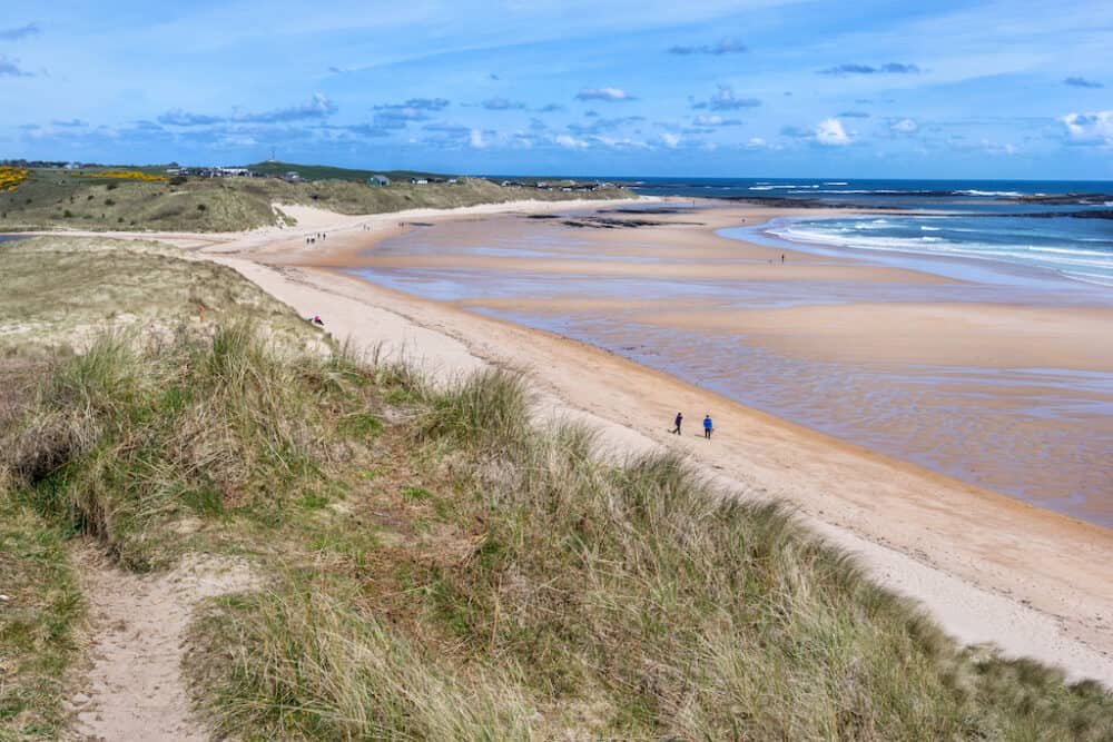 Embleton Bay - lovely areas of Northumberland