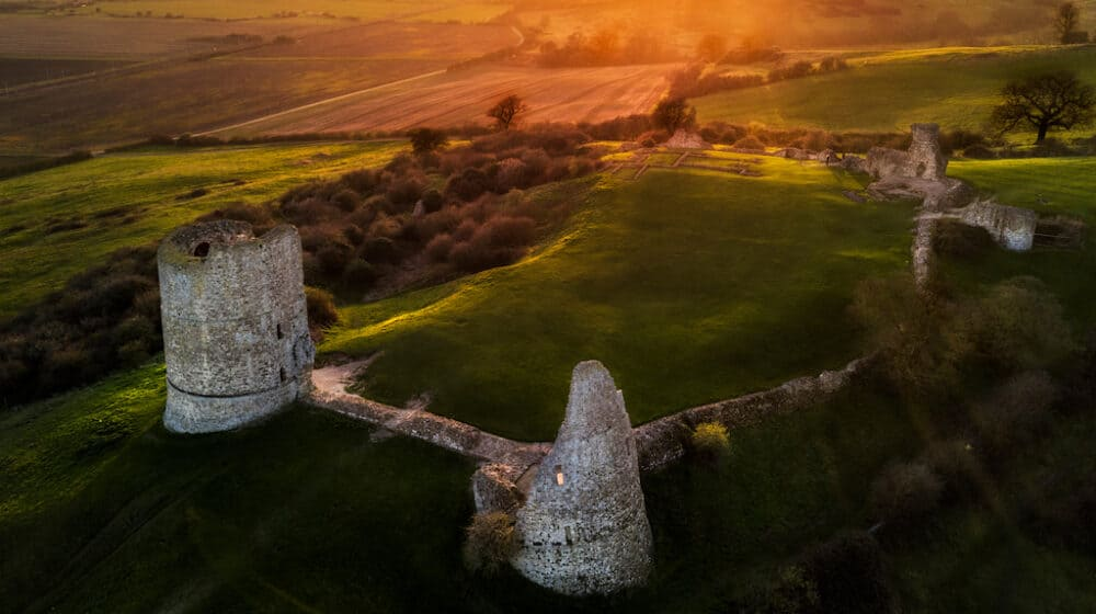 Hadleigh Castle - places to go in Essex
