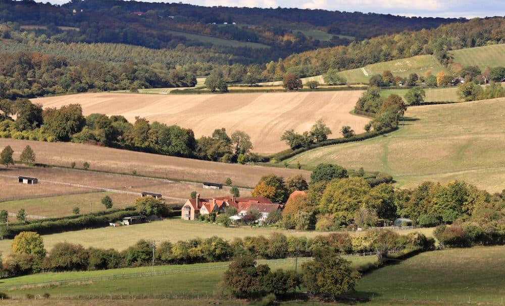 Hambleden Valley Buckinghamshire