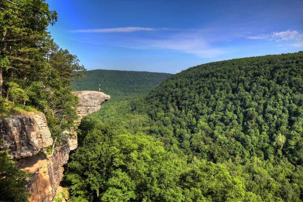 Hawksbill Crag Hiking Trail