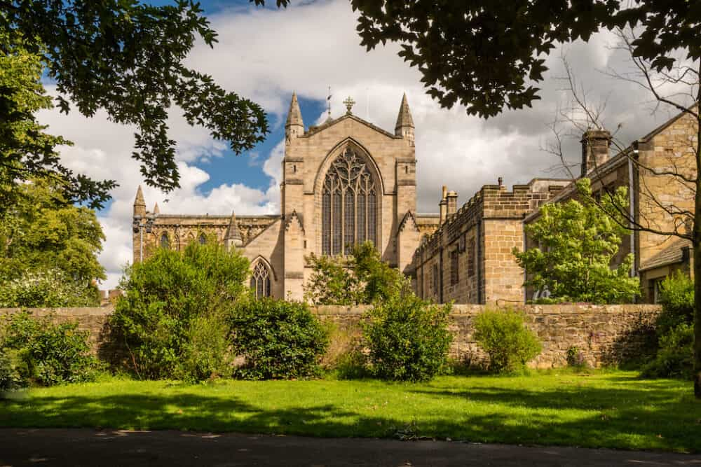 Hexham Abbey - places to go in Northumberland