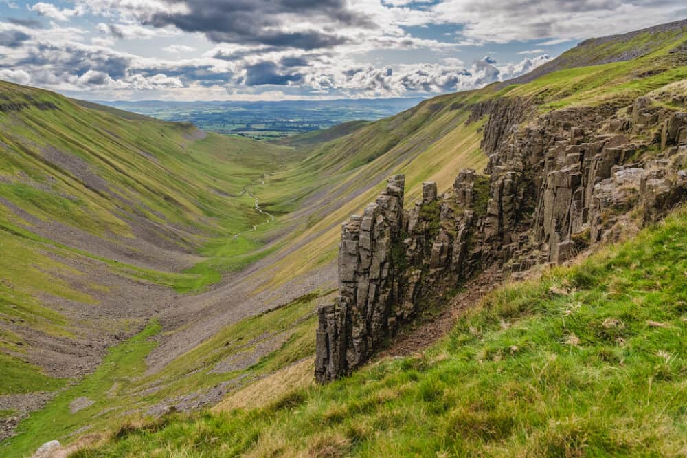 High Cup Nick - beautiful places to explore in County Durham