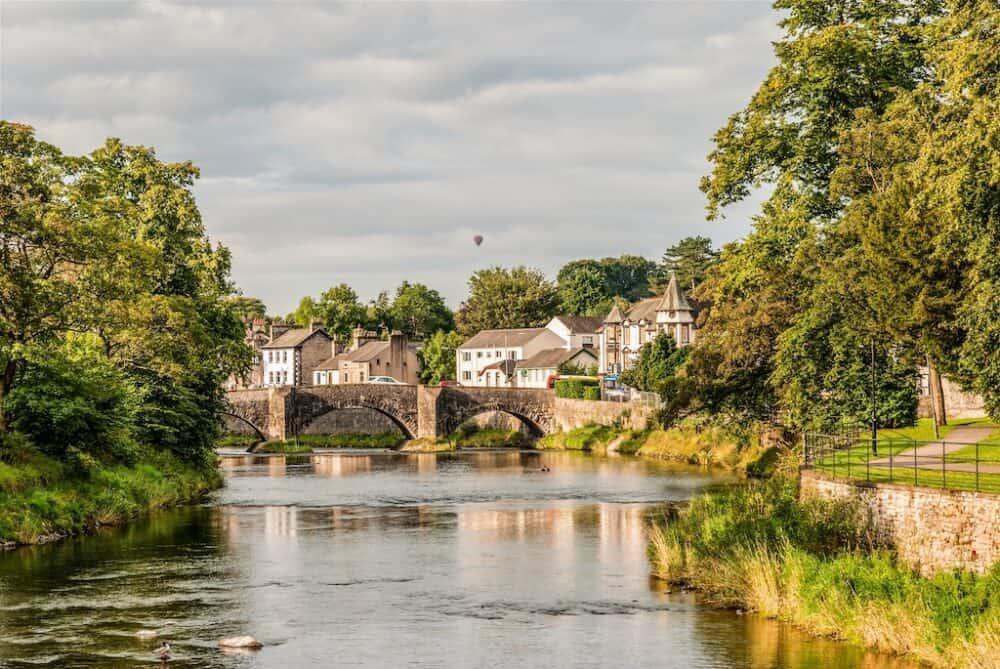 Kendal - pretty places in Cumbria