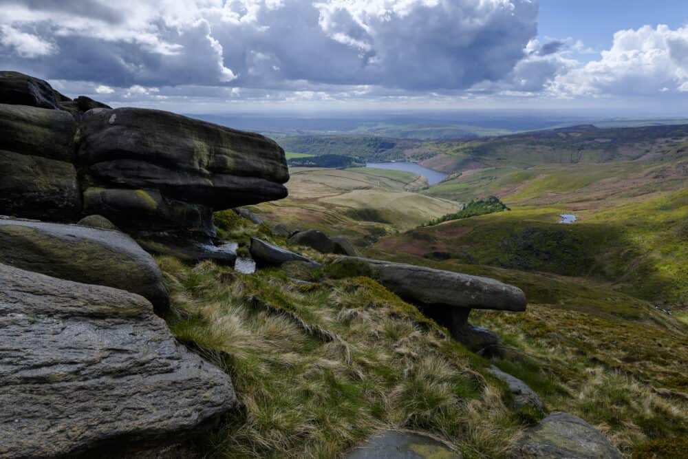 Kinder Scout - the best places to visit in the Peak District