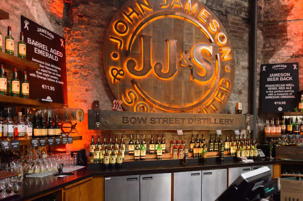 Old Jameson Distillery Dublin