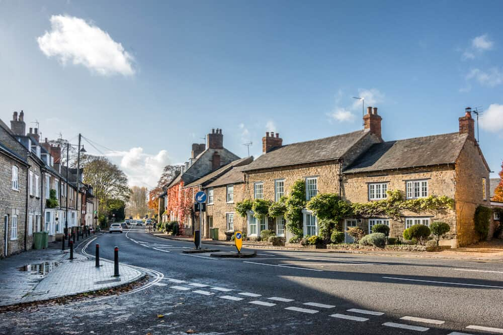 Olney - pretty places in Buckinghamshire