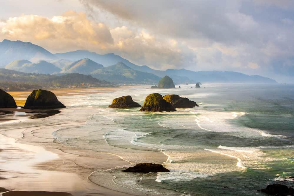 Beautiful scenery along the Oregon Coast Highway