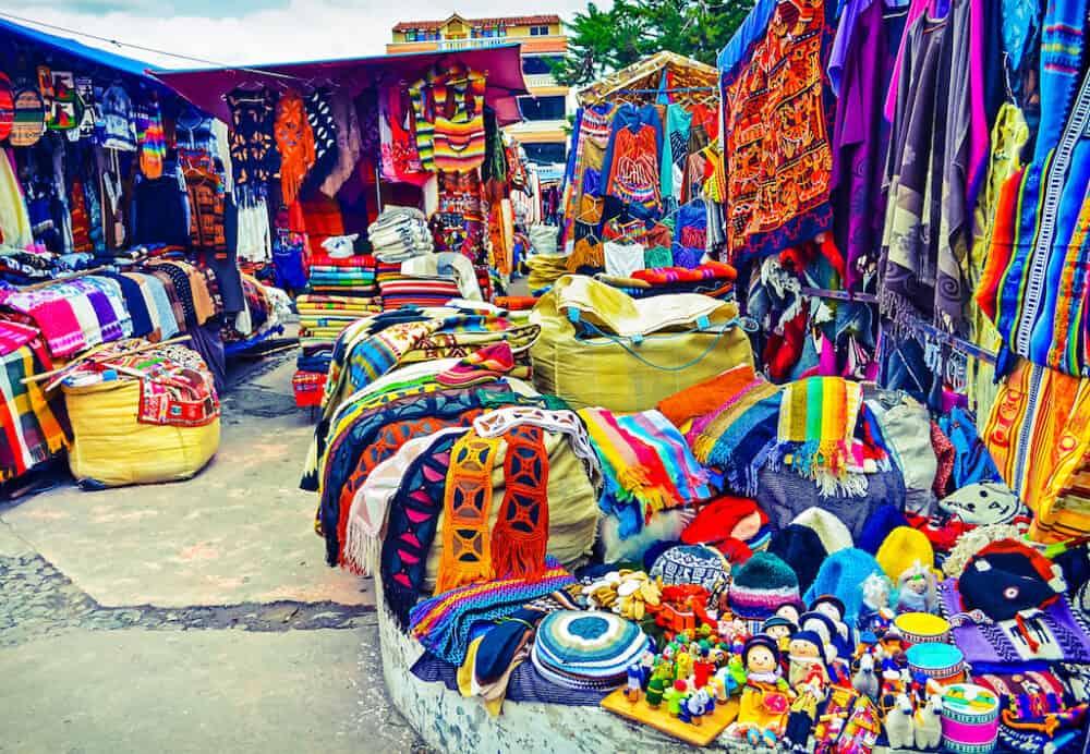 Otavalo Market - best places to explore in Ecuador