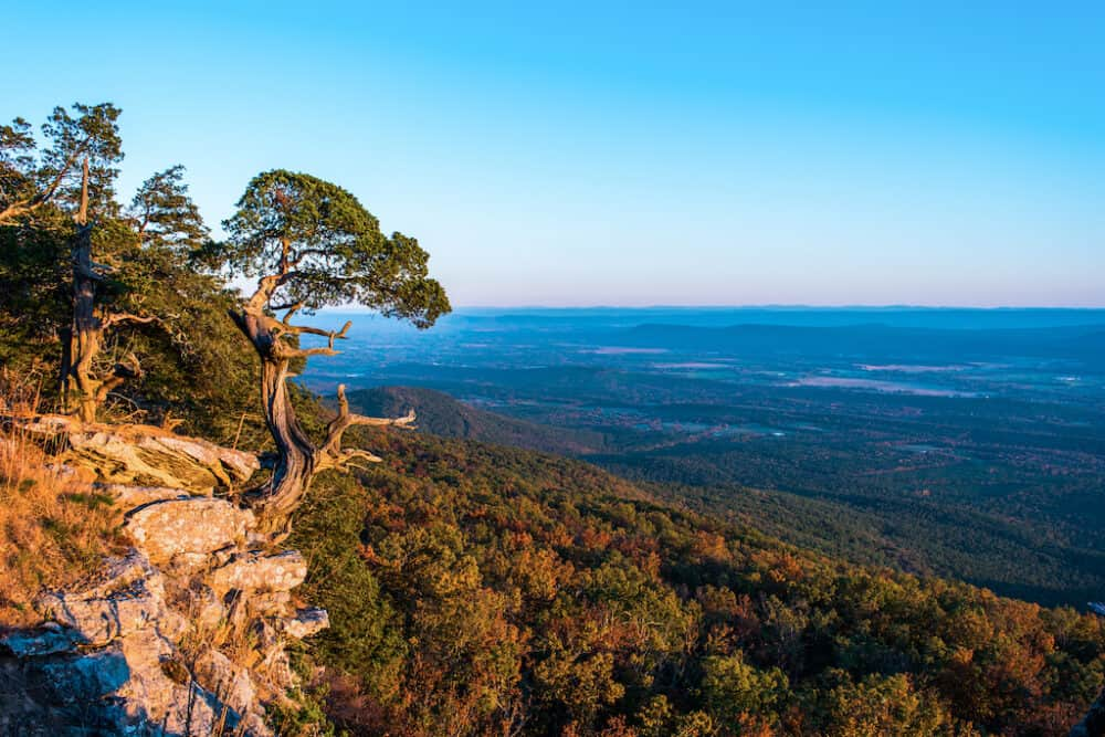 Ozark Mountains - best places to visit in Arkansas
