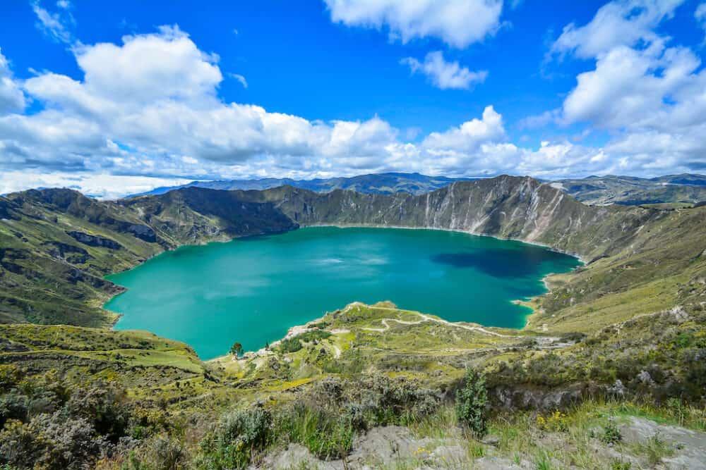 Quilotoa - great attractions in Ecuador