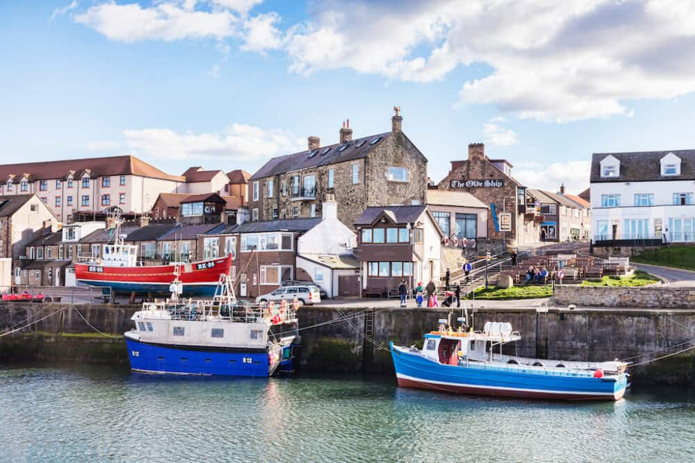 Seahouses - the most beautiful places to visit in Northumberland