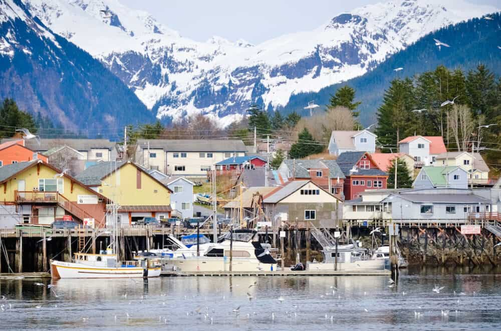 Sitka - beautiful places to visit in Alaska