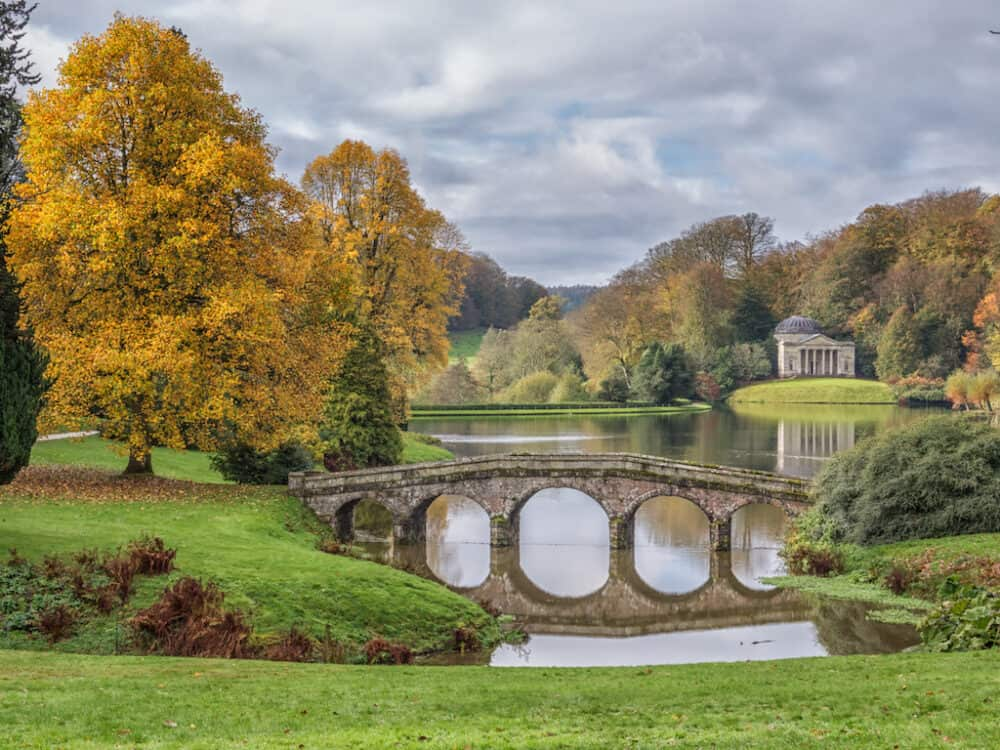 Stourhead - beautiful places to visit in Wiltshire