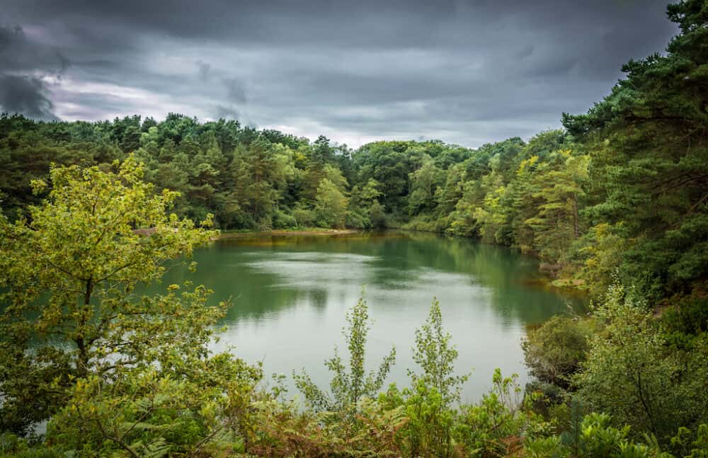 The Blue Pool - places to visit in Dorset