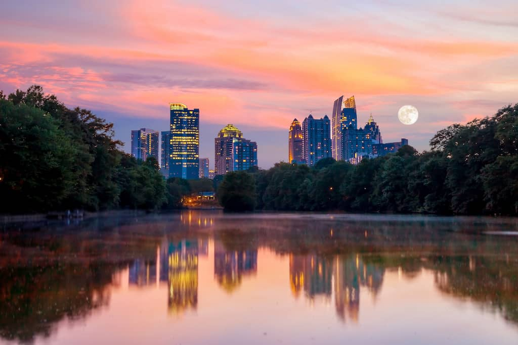 The most romantic hotels in Atlanta