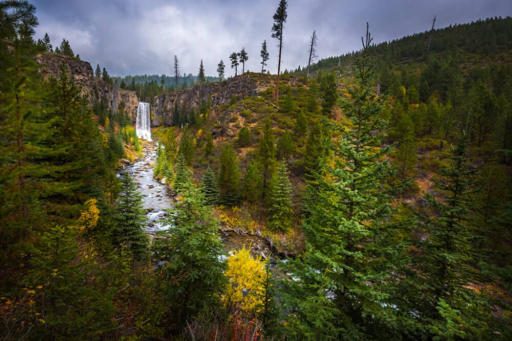 Tumalo Falls Deschutes National Forest